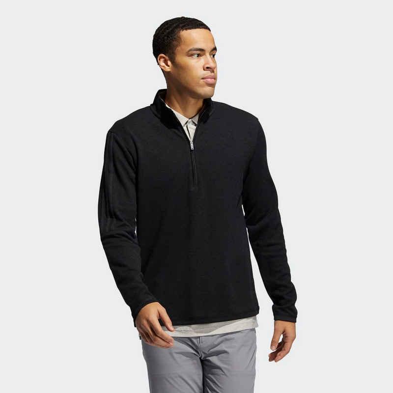 adidas Performance Sweatshirt »3-Streifen Quarter-Zip Pullover«