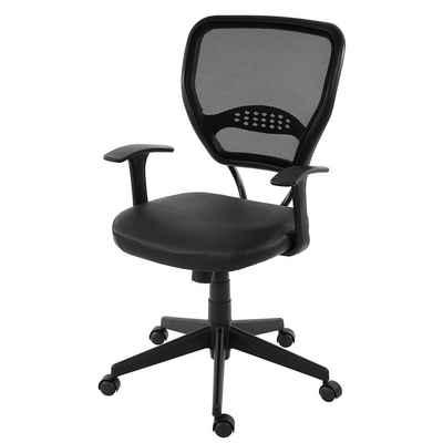 MCW Schreibtischstuhl »Chicago Kunstleder«, Verstellbare Wipptechnik, Bequemes und weiches Sitzen, Bis zu 150 kg belastbar