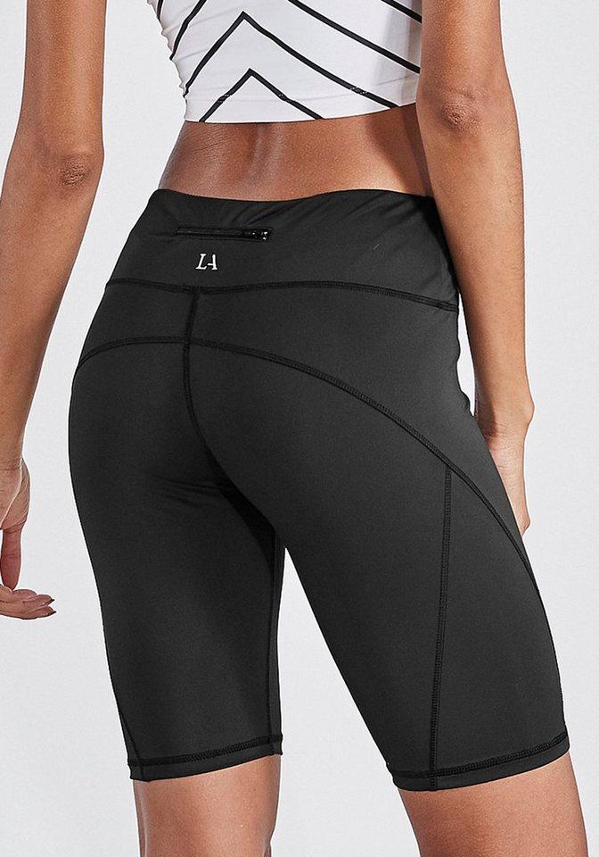 lascana active -  Radlerhose »Basic Bottoms« mit kleiner Bundtasche hinten