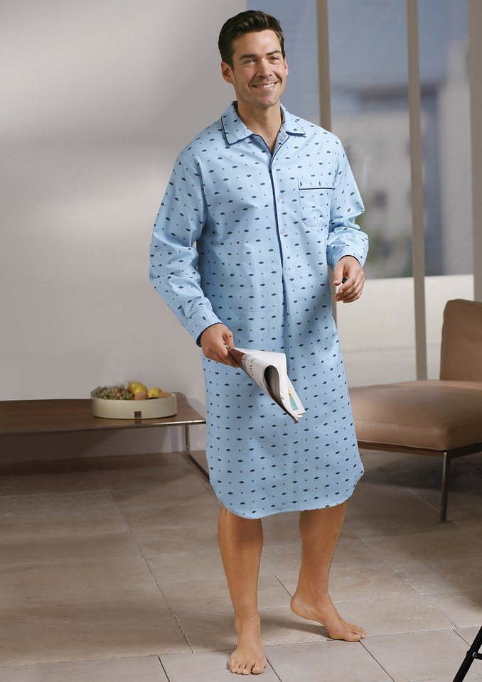 Nachthemd in hellblau
