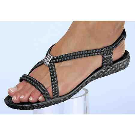 Siebi´s® Bade-Sandalette mit Zier-Applikation