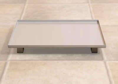 weka Tropfschale, für für Saunaöfen, BxLxH: 26x33x4,5 cm