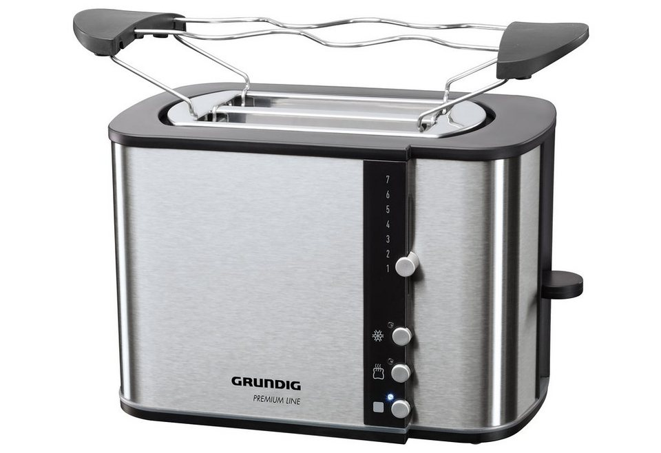 Grundig Toaster TA 5260, für 2 Scheiben in schwarz