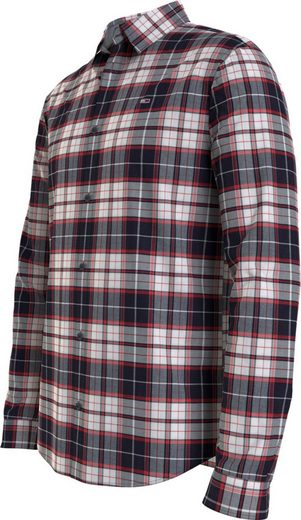 Tommy Jeans Karohemd »TJM STRETCH CHECK POPLIN SHIRT«