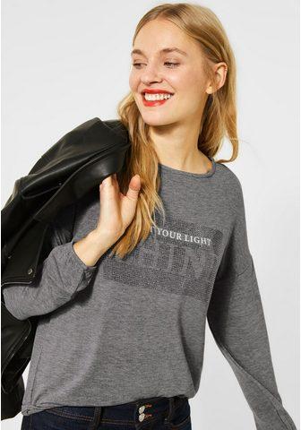 STREET ONE Marškinėliai ilgomis rankovėmis su Ela...