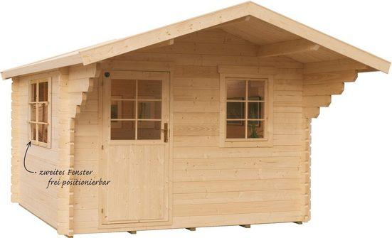 Kiehn-Holz Gartenhaus »Finkenberg«, BxT: 405x449 cm, (Set)