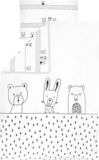 Kinderbettwäsche »Grobies«, Zöllner, mit Tieren