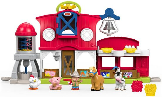 Fisher-Price® Lernspielzeug »Little People - Bauernhof« (Set), mit Soundeffekt