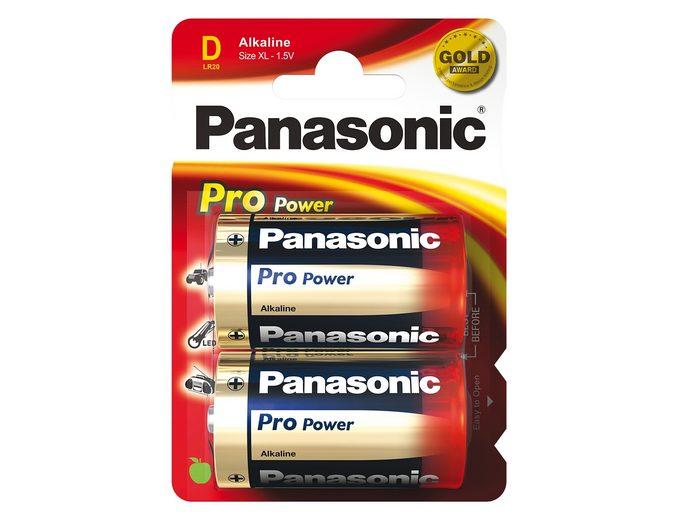 Batterien, Panasonic, »ProPower, Mono / D / LR20« (2 Stck.)