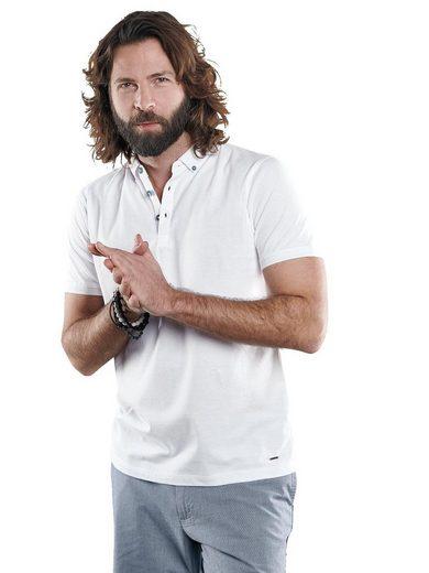 emilio adani T-Shirt »Sportives Poloshirt aus hochwertiger Baumwolle«