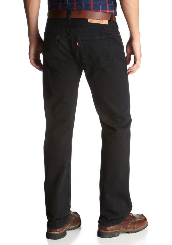 Levi's® Straight-Jeans »501®« in black