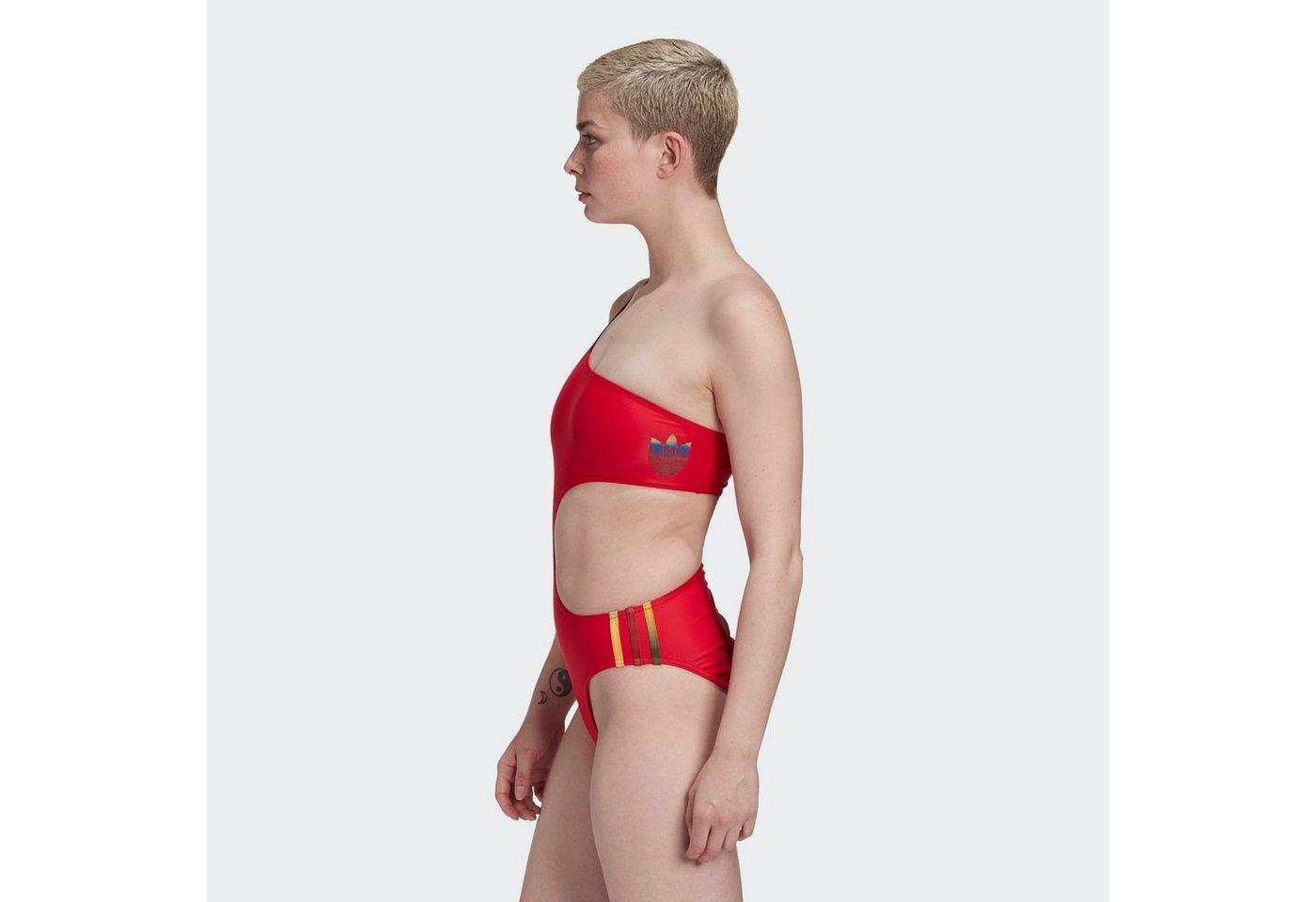 Bademode - adidas Originals Badeanzug »Adicolor 3D Trefoil Badeanzug« ›  - Onlineshop OTTO