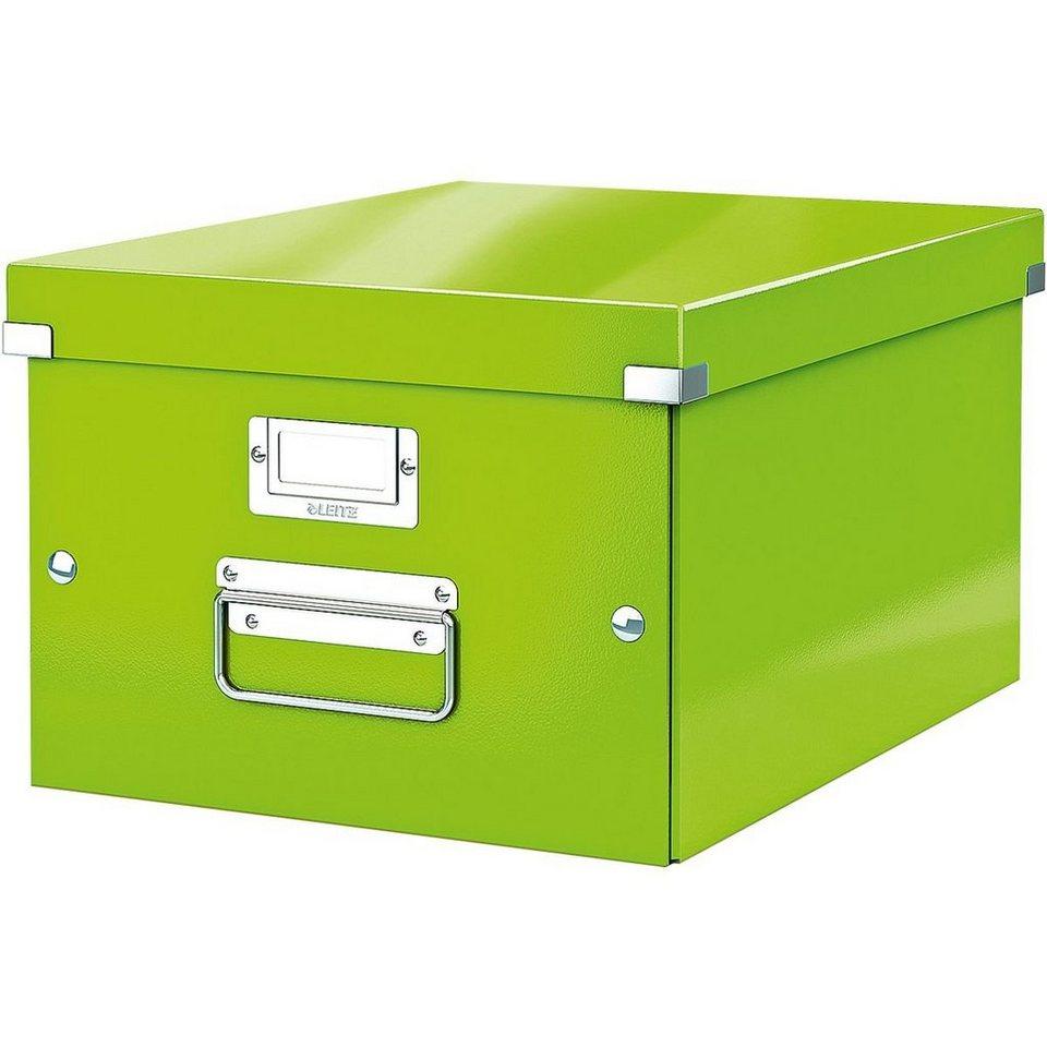 """Leitz Ablagebox """"Click & Store"""" »Mittel... in metallic-grün"""