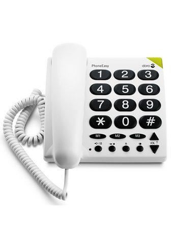 DORO Telefonas »PhoneEasy 311c Weiß«