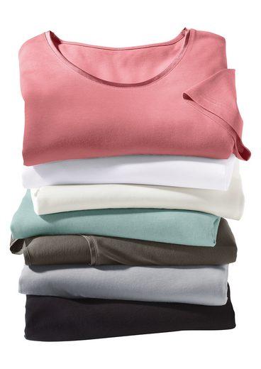 Collection L. Shirt aus reiner Baumwolle