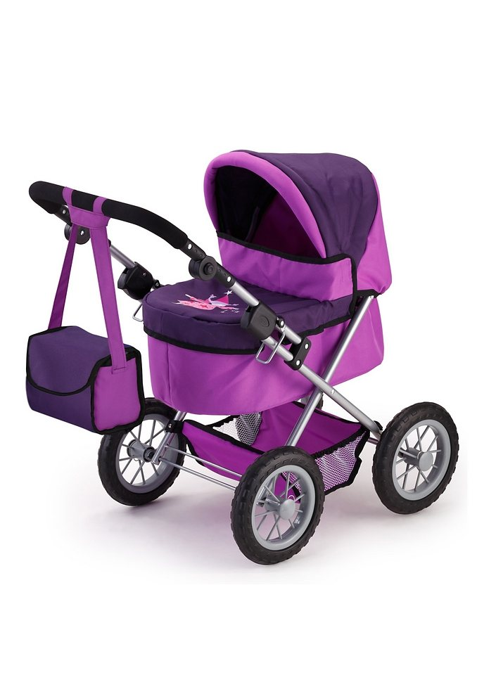 Puppenwagen, Bayer Design, »Trendy«, lila in lila