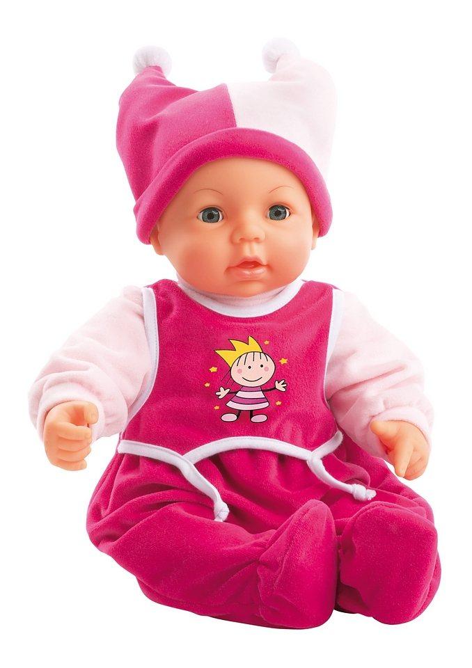 Babypuppe mit Funktion, Bayer Design, »Hello Baby« in rosa