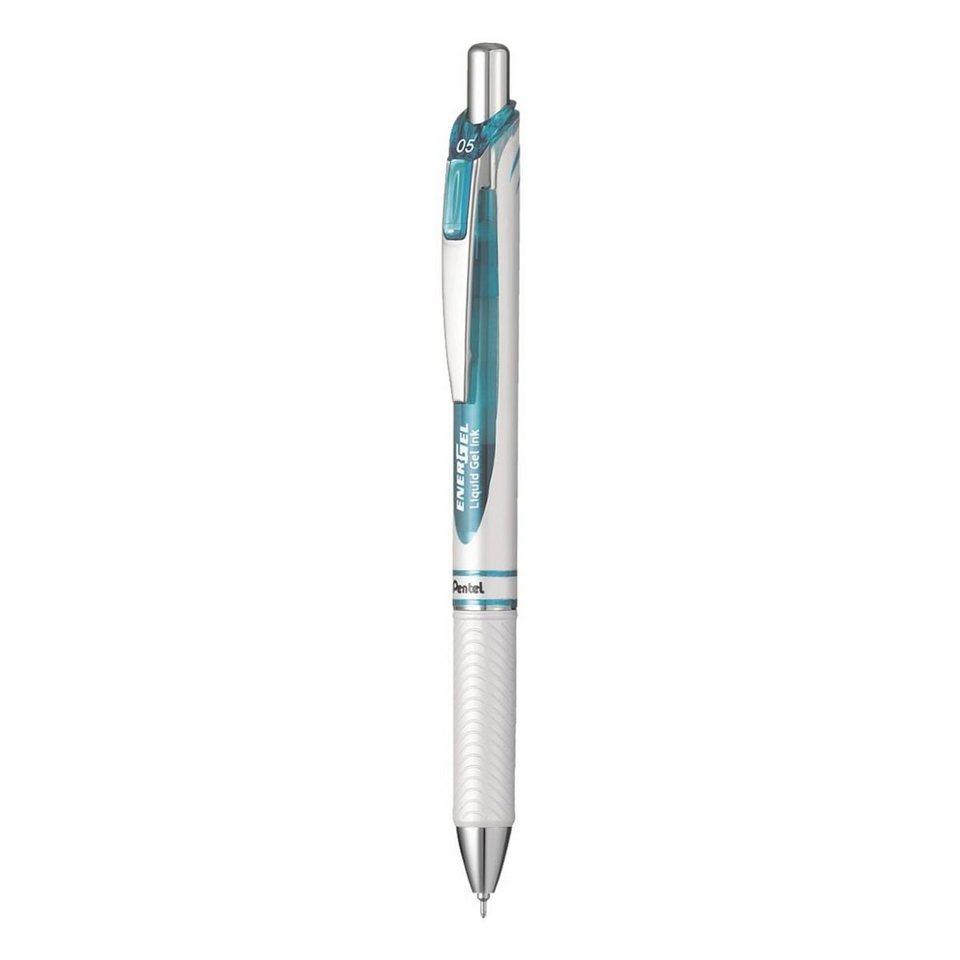 Pentel Gelschreiber »Energel White Edition« in blau