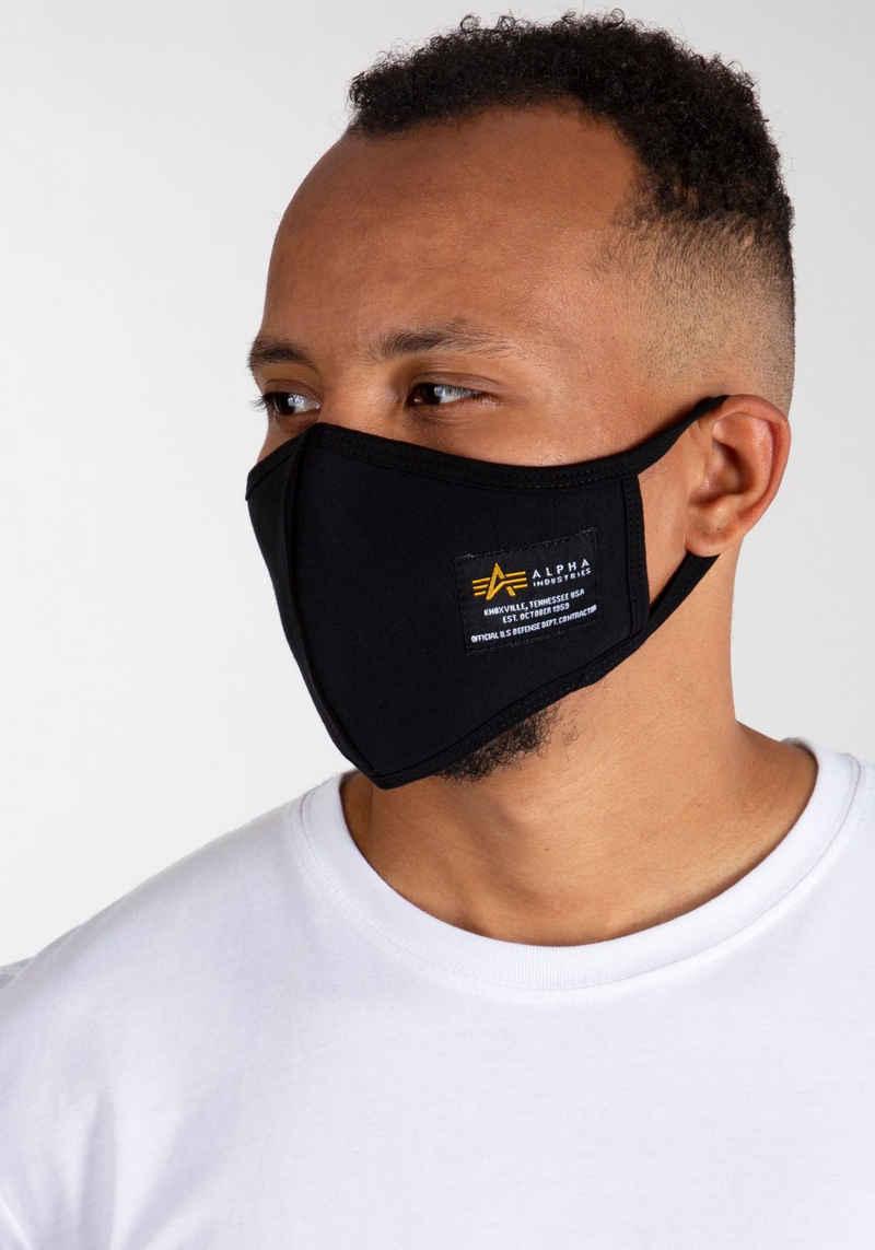 Alpha Industries Mund-Nasen-Masken, 1-St.