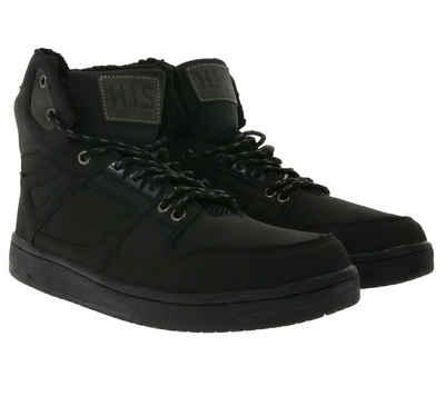 H.I.S »H.I.S. Winter-Boots kuschelig warme Hi-Top Sneaker für Herren Stiefel Stiefeletten Schwarz« Sneakerboots