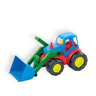 Mochtoys Spielzeug-Traktor »Spielzeug Traktor 10027«, Bulldozer mit Schaufel 34 x 16 cm