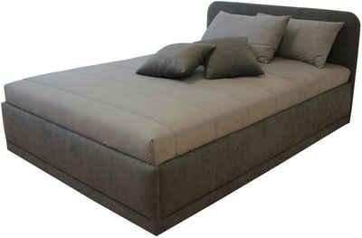 bett mit bettkasten 120 200. Black Bedroom Furniture Sets. Home Design Ideas