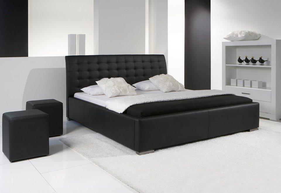 meise.möbel Polsterbett in schwarz