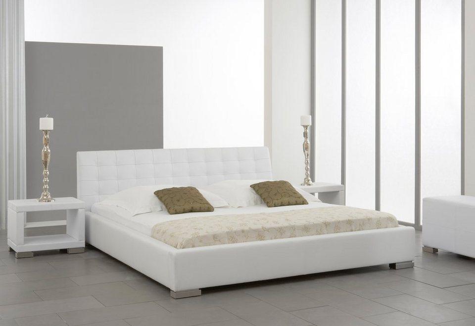 meise.möbel Polsterbett in weiß