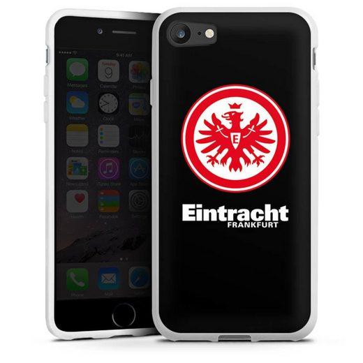 DeinDesign Handyhülle »Eintracht Frankfurt schwarz« Apple iPhone 7, Hülle Eintracht Frankfurt SGE Adler