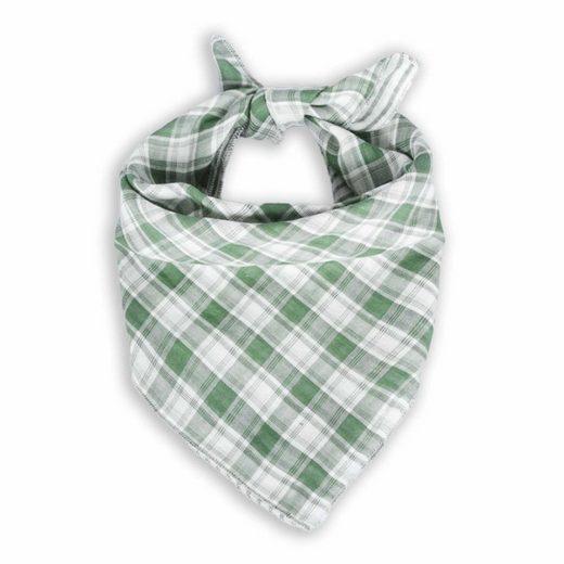 Monkimau Hunde-Halsband »Hunde Halstuch für Hund - Hundehalstuch kariert«, Baumwolle