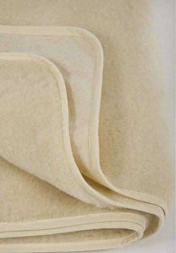 Matratzenschoner »Merino Matratzenauflage aus Wolle, Unterbett Matratzenschoner, Matratzen-Schoner, Matratzen-Auflage«, Welt der Träume