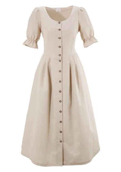 Naber Collection Trachtenkleid mit luftigen Puffärmeln