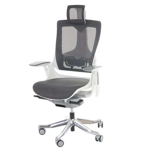 MCW Schreibtischstuhl »Adelaide«, Höhenverstellbare Rückenlehne, Netzbespannung für verbesserte Luftzirkulation am Rücken