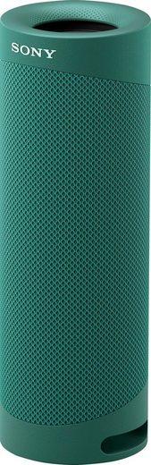 Sony SRS-XB23 tragbarer, kabelloser Bluetooth-Lautsprecher (Bluetooth, 12h Akkulaufzeit, wasserabweisend, Extra Bass)
