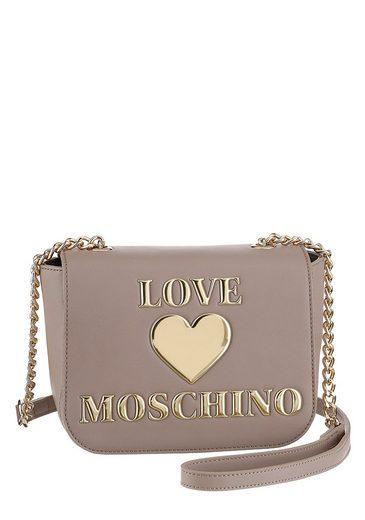 LOVE MOSCHINO Umhängetasche, mit goldfarbenen Details