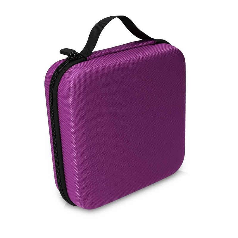 kwmobile Aufbewahrungsbox, Tasche für Tonies - aus Nylon - Tonies Transportbox für bis zu 20 Tonie Figuren - Hartschale Box