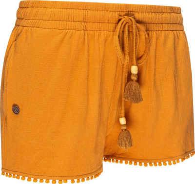 Ragwear Shorts »Aniko« leichte kurze Leinenhose mit Tunnelzugband