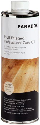 PARADOR Bodenpflege »Profi-Pflegeöl«, für Echtholzböden, farblos, 1 l