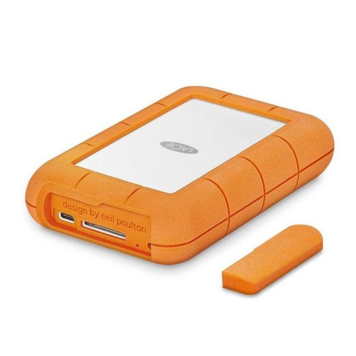 LaCie »Rugged RAID Pro 4TB USB-C + SD Reader« externe HDD-Festplatte