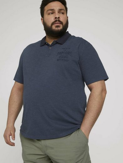 TOM TAILOR Men Plus Poloshirt »gestreiftes Poloshirt«