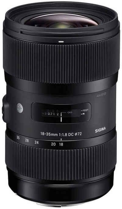 SIGMA »18-35mm 1:1,8 DC HSM Nikon AF« Objektiv