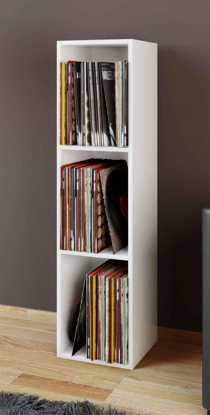 VCM CD-Regal »Holz Schallplatten Stand Regal Platto 3fach«