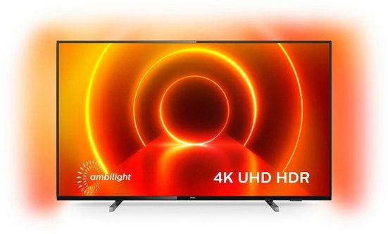 Philips 58PUS7805/12 LED-Fernseher (146 cm/58 Zoll, 4K Ultra HD, Smart-TV)
