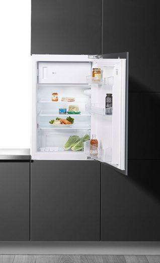 BAUKNECHT Einbaukühlschrank KVIE 500 A++, 87,5 cm hoch, 54 cm breit