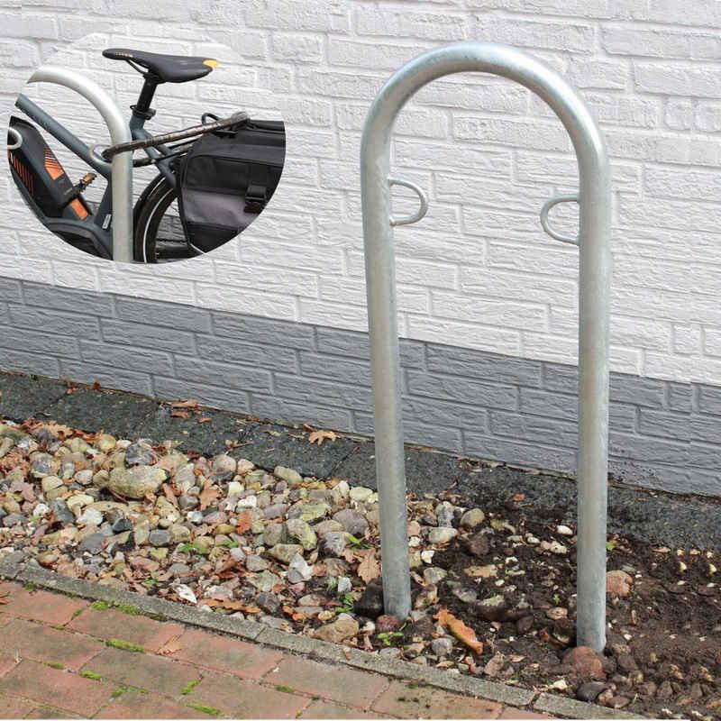 TRUTZHOLM Fahrradständer »Fahrrad Anlehnbügel feuerverzinkt Fahrradständer«
