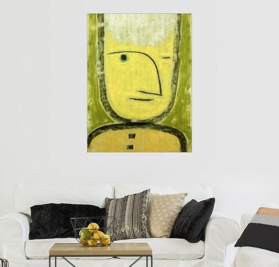 Posterlounge Wandbild, Der Gelb-Grüne