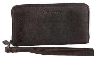 FREDsBRUDER Geldbörse, mit abnehmbarer Handschlaufe, aus echtem Leder