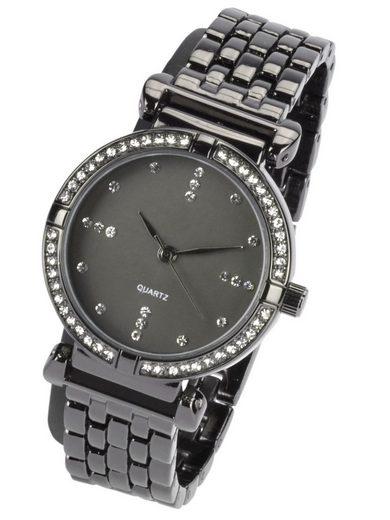 Armbanduhr mit Steinchen