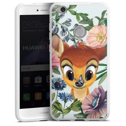 DeinDesign Handyhülle »Bloomy Bambi« Huawei P8 Lite (2017), Hülle Disney Offizielles Lizenzprodukt Bambi