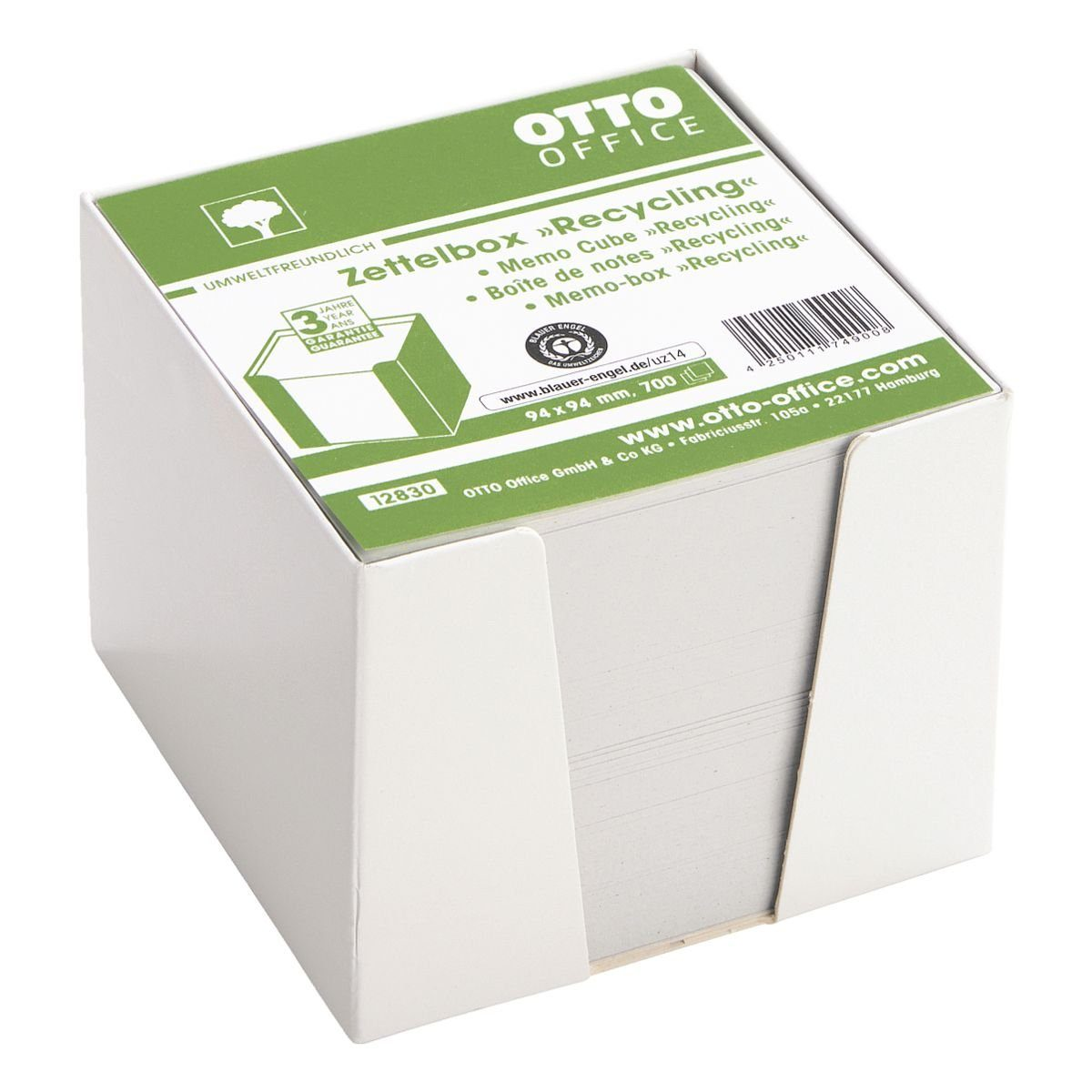 OTTOOFFICE NATURE Zettelbox »Recycling«